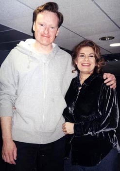 Miss Vera and Conan O'Brien