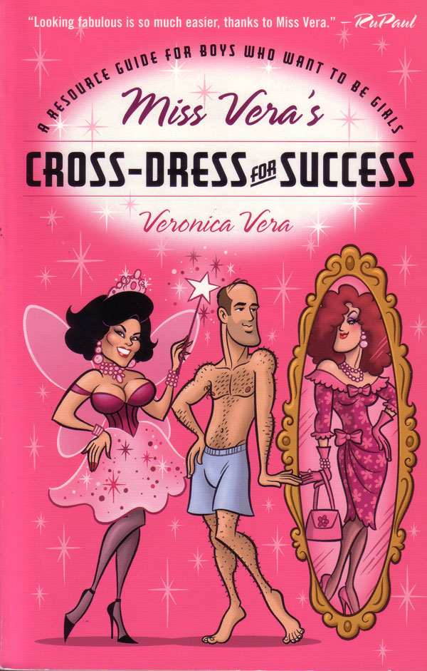 Miss Vera's Cross-Dress For Success Book Cover