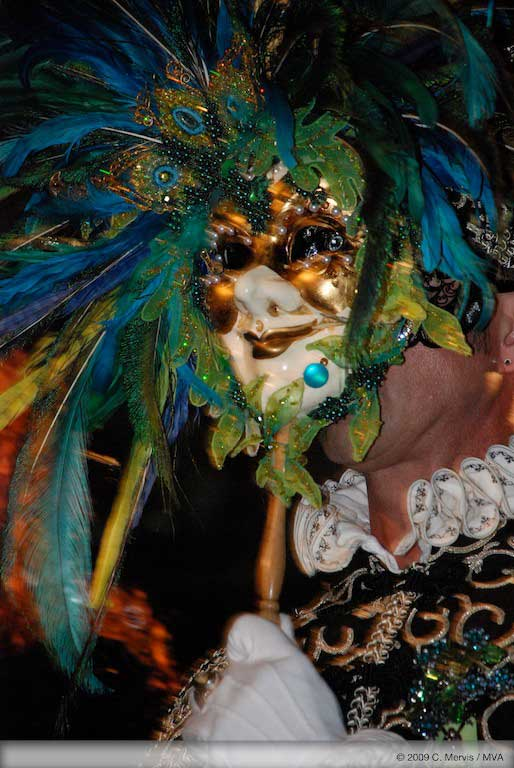 Imperial Coronation theme, a masked ball in Venice